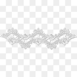 Silver Lace Border, Frame, Silver White, Elegant Png Image - Laceborder, Transparent background PNG HD thumbnail