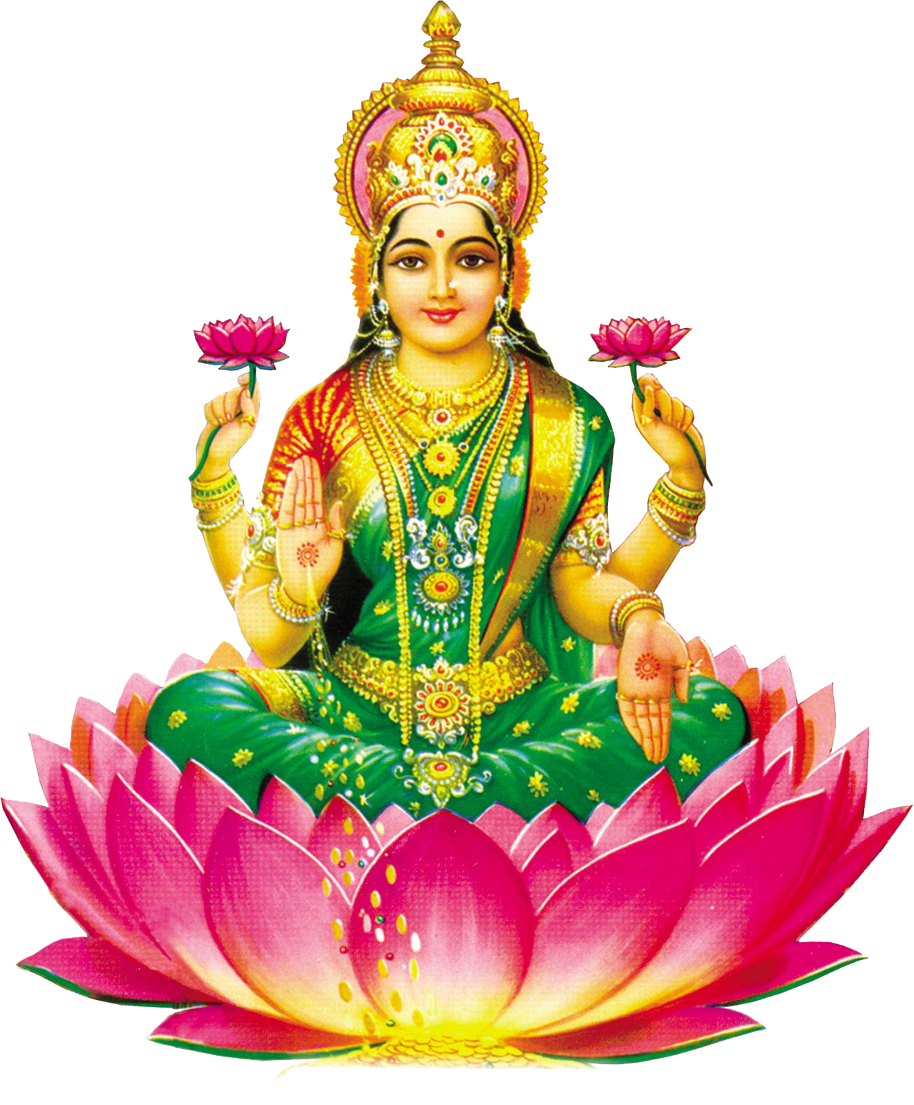 Lakshmi HD PNG