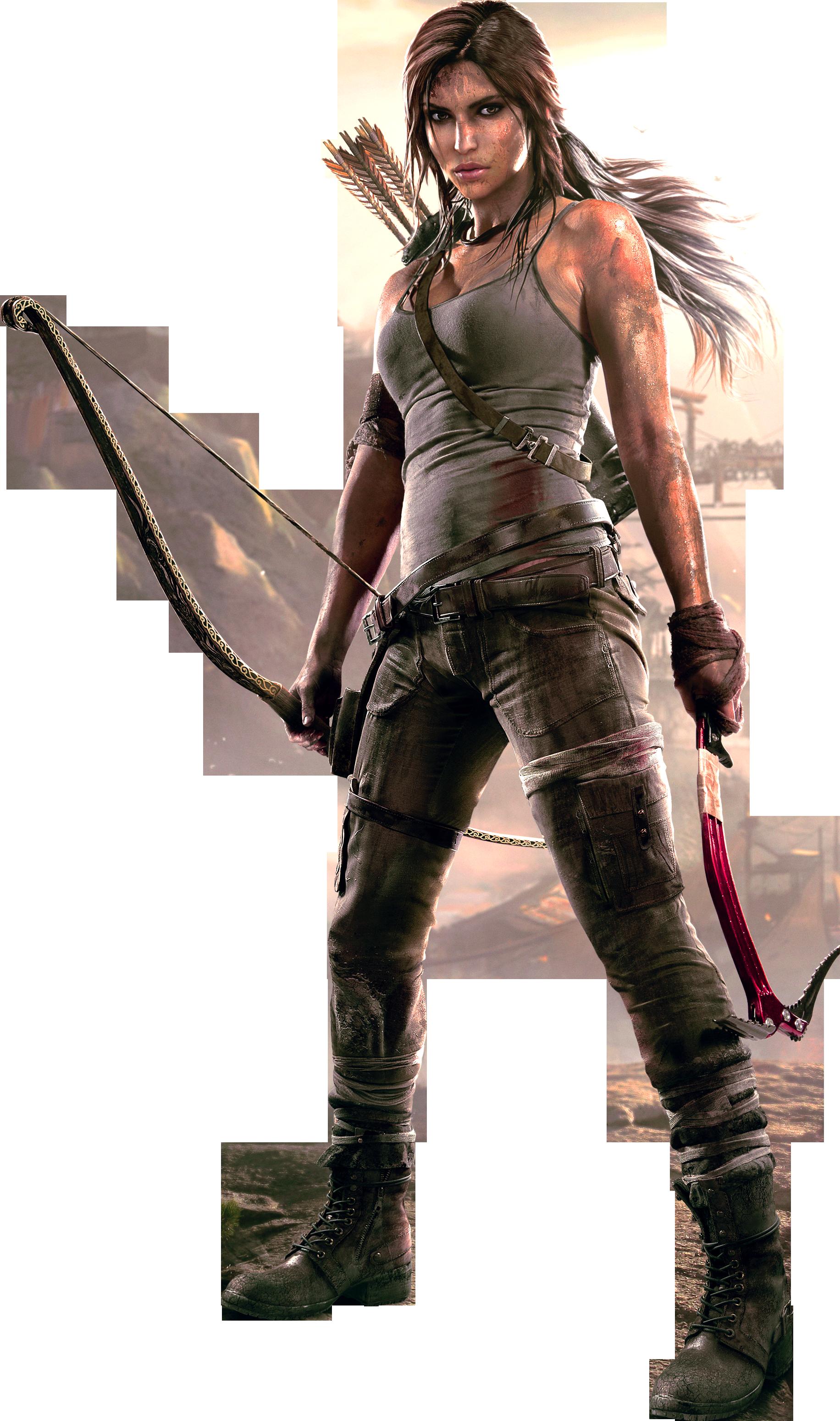 Lara Croft HD PNG