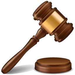 Auction Hammer Icon - Law Hammer, Transparent background PNG HD thumbnail