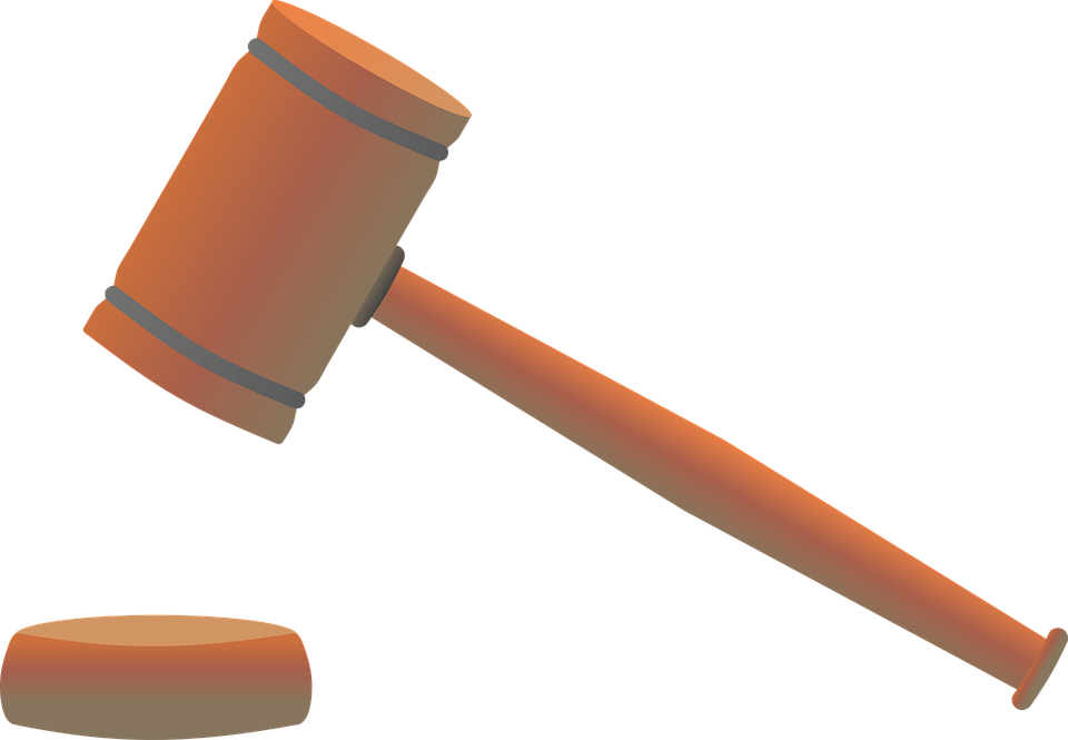 Hammer, Court, Law, Right, Justice, Jura, Regulation - Law Hammer, Transparent background PNG HD thumbnail