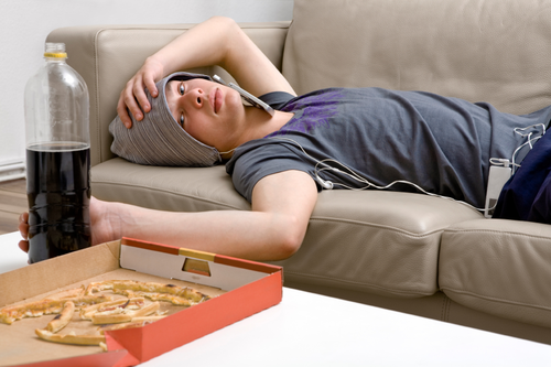 At A Glance - Lazy Kid, Transparent background PNG HD thumbnail