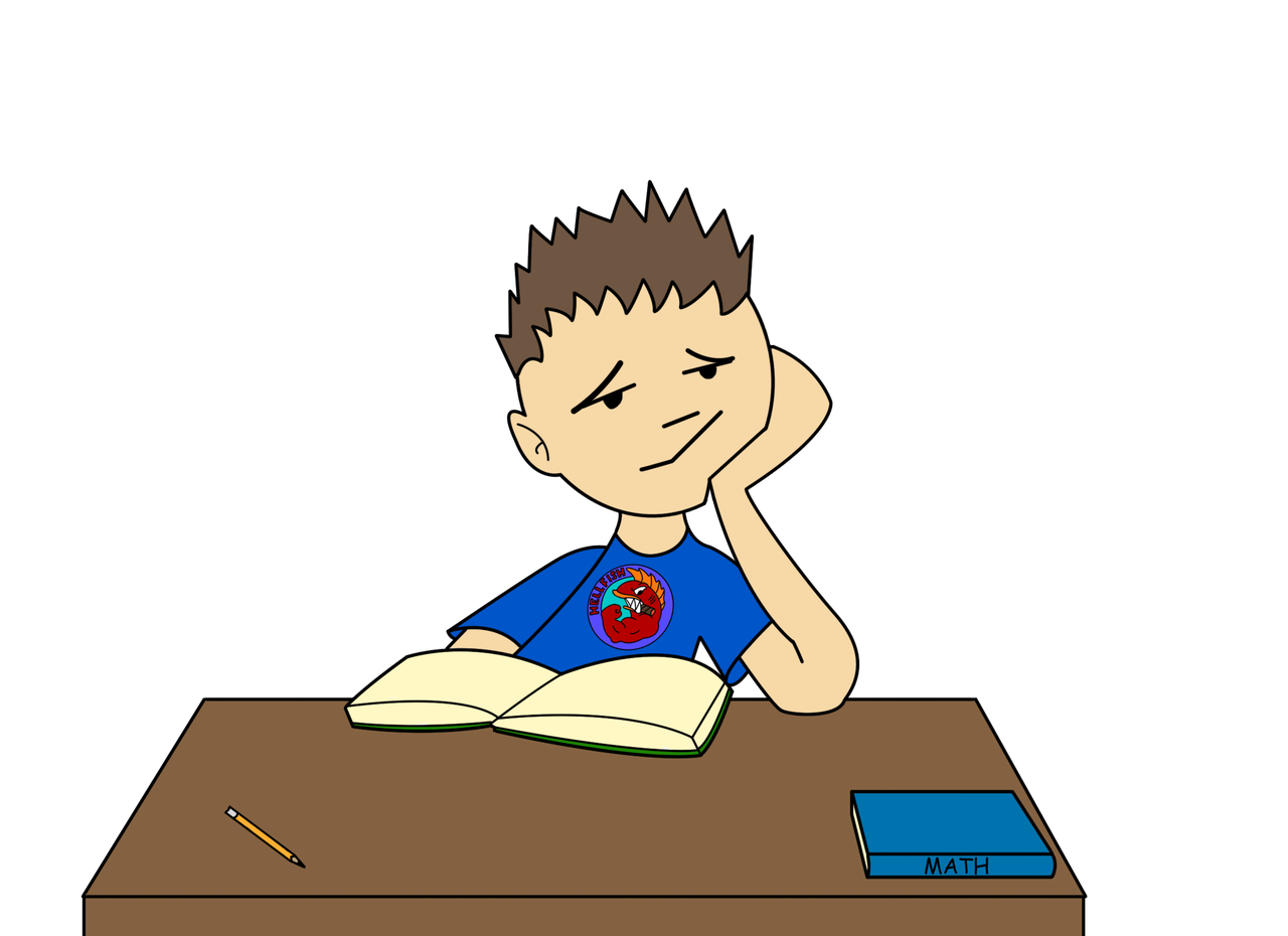 Bored - Lazy Kid, Transparent background PNG HD thumbnail