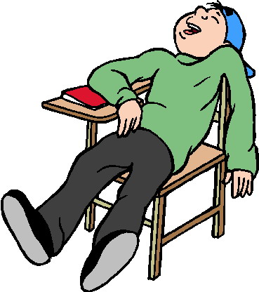 Lazy Clipart - Lazy Kid, Transparent background PNG HD thumbnail