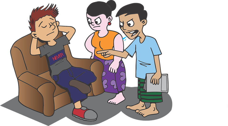 Lazy, Son, Student, Home, Mother, Woman, Boy, Mom - Lazy Kid, Transparent background PNG HD thumbnail