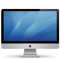 Monitor Apple Lcd Png Image Png Image - Lcd, Transparent background PNG HD thumbnail