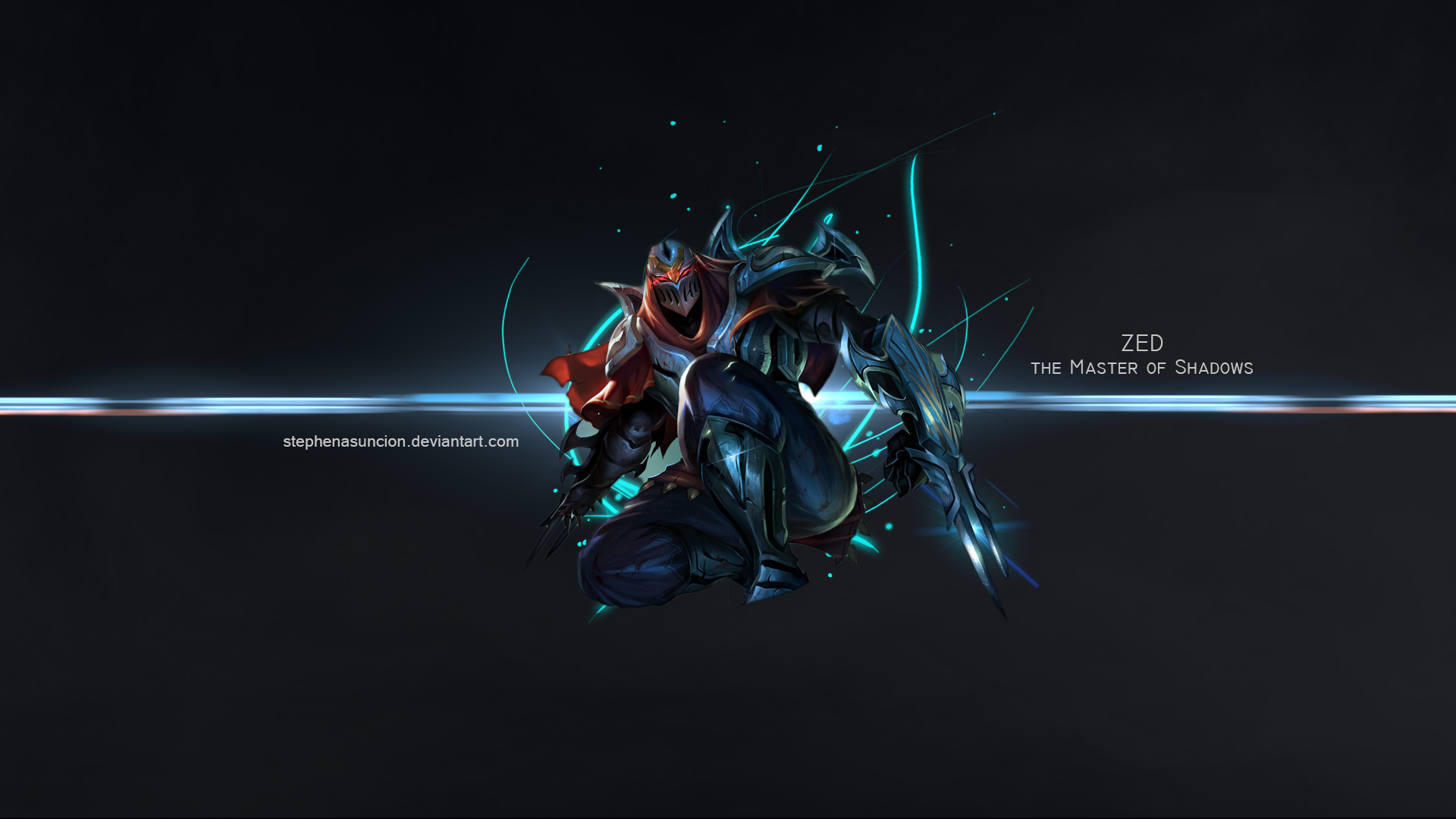 . Hdpng.com League Of Legends   Zed The Master Of Shadows By Stephenasuncion - Zed The Master Of Shadows, Transparent background PNG HD thumbnail