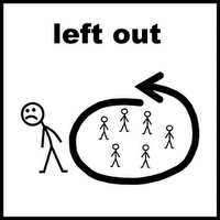 Do Not Be Left Out! - Left Out, Transparent background PNG HD thumbnail