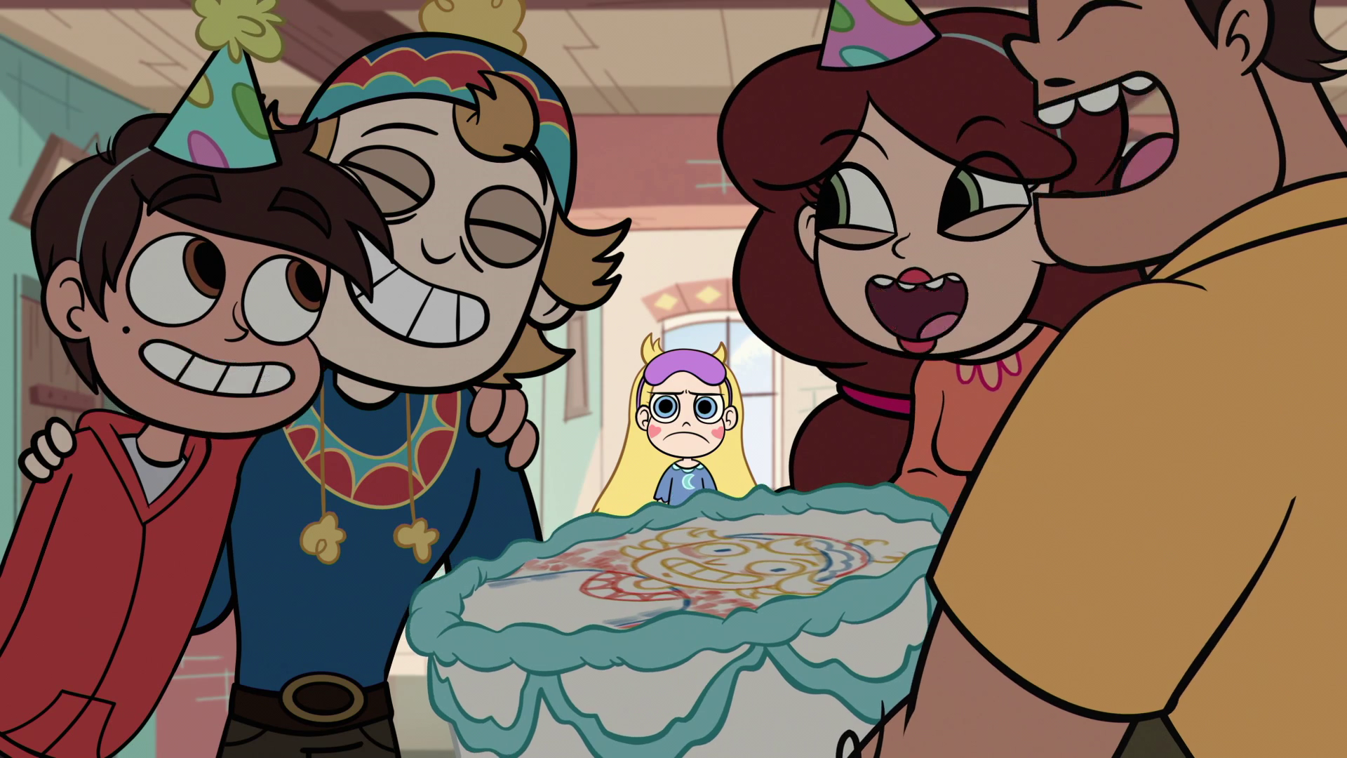 Image   S1E6 Star Left Out Of The Family Fun.png | Star Vs. The Forces Of Evil Wiki | Fandom Powered By Wikia - Left Out, Transparent background PNG HD thumbnail