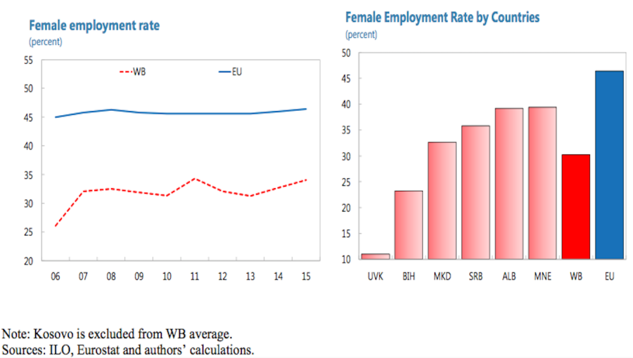 Women Left Out Of Western Balkans Workforce - Left Out, Transparent background PNG HD thumbnail