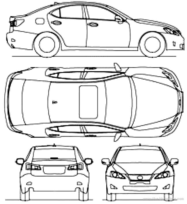 Lexus Is 250 2010.png Hdpng.com  - Lexus Auto Vector, Transparent background PNG HD thumbnail