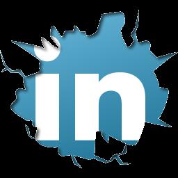 256X256 Px Linkedin Logo Png Download - Linkedin, Transparent background PNG HD thumbnail