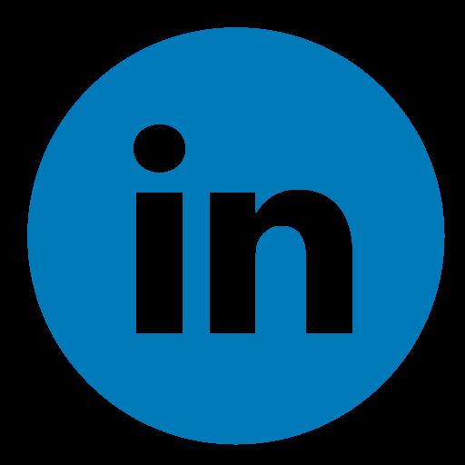 Circle, Color, Linkedin Icon - Linkedin, Transparent background PNG HD thumbnail