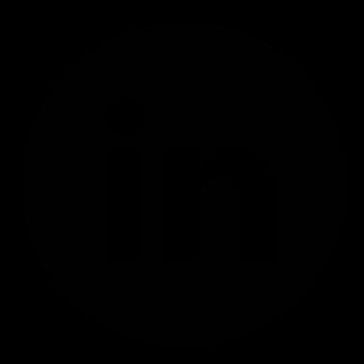 Circle, Linkedin Icon - Linkedin, Transparent background PNG HD thumbnail