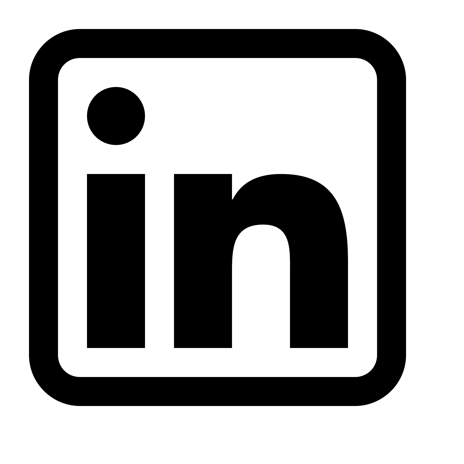 Linkedin Icon - Linkedin, Transparent background PNG HD thumbnail