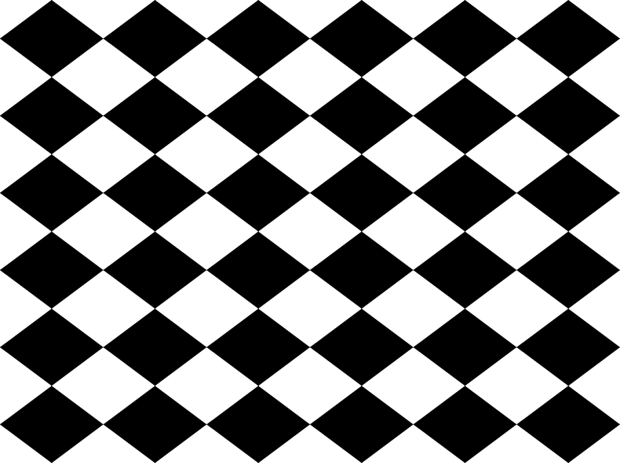 Small Harlequin Check In Black And White Giftwrap   Charmcitycurios   Spoonflower - Lkw Black And White, Transparent background PNG HD thumbnail
