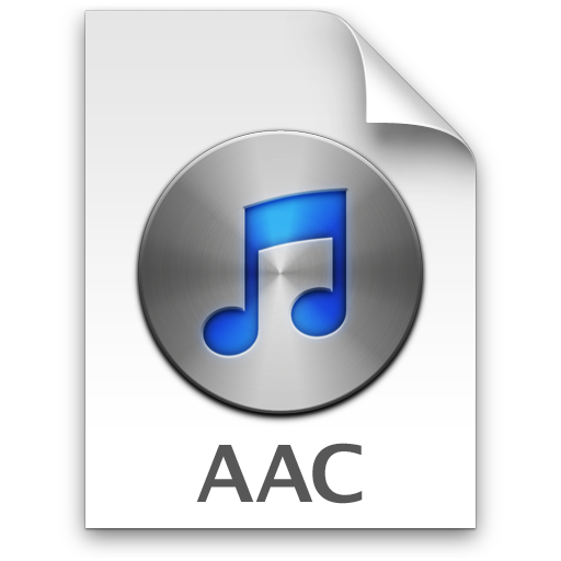 Itunes Aac 3 Icon 512X512 Png - Aac, Transparent background PNG HD thumbnail