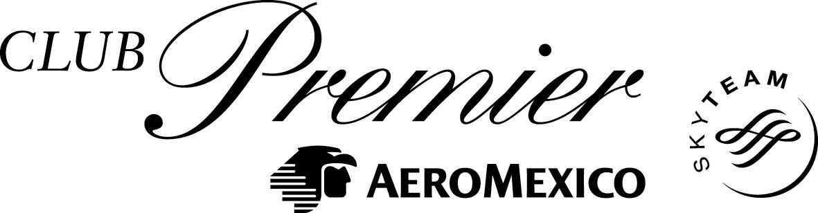 Logo Aeromexico Black Png - Aero Mexico   Club Premier, Transparent background PNG HD thumbnail