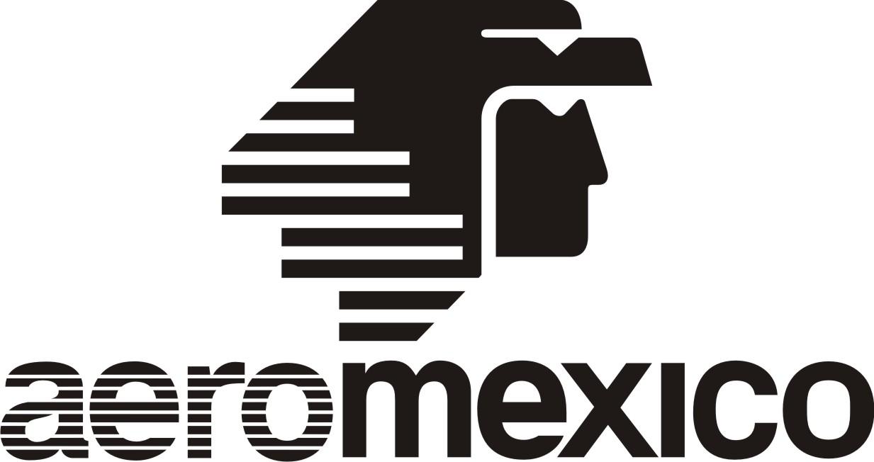 Logo Aeromexico Black Png - Aeroméxico, Transparent background PNG HD thumbnail