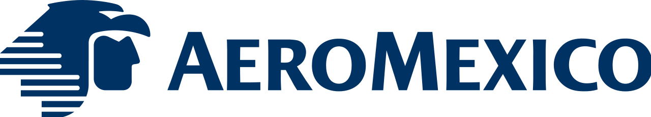 Logo Aeromexico Black Png - Aeromexico   Aeromexico Skyteam Png, Transparent background PNG HD thumbnail