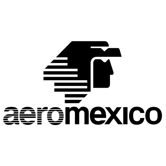 Logo Aeromexico Black Png - Download Png., Transparent background PNG HD thumbnail
