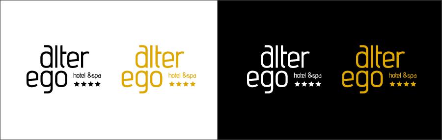 Logo Alter Ego Png - Hotel Logo Design Variations, Transparent background PNG HD thumbnail
