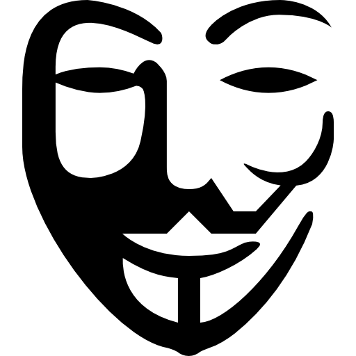 Anonymous Logo Free Icon - Anonymous, Transparent background PNG HD thumbnail