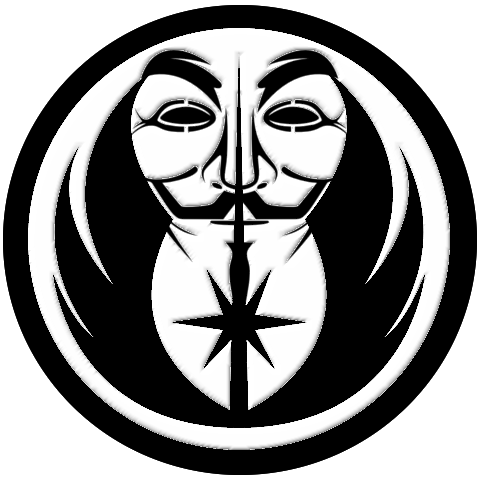 Grey Jedi Anonymous Logo By Paradigm Shifting Hdpng.com  - Anonymous, Transparent background PNG HD thumbnail