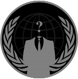 Scanline Logo - Anonymous, Transparent background PNG HD thumbnail
