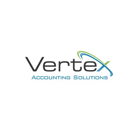 Vertex Accounting Solutions Logo - Apostolov, Transparent background PNG HD thumbnail