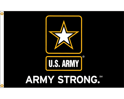 Logo Army Strong Png - U.s. Army Strong Flag, Transparent background PNG HD thumbnail