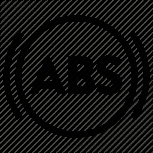 Abs, Alert, Anti Lock Braking System, Auto, Brake, Warning Icon - Auto Brake Service, Transparent background PNG HD thumbnail