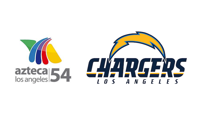 Azteca América Strikes New Multi Year Deal With La Chargers - Azteca America, Transparent background PNG HD thumbnail