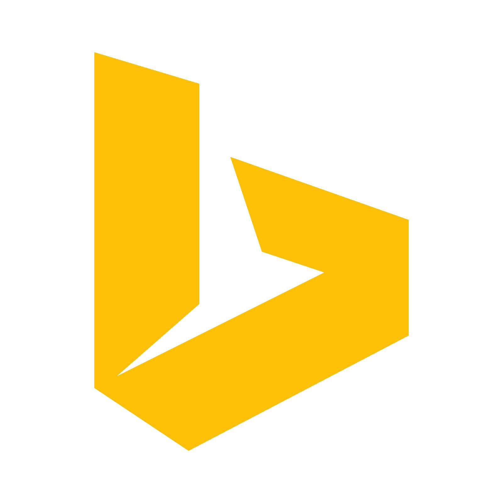 Bing Icon - Bing, Transparent background PNG HD thumbnail
