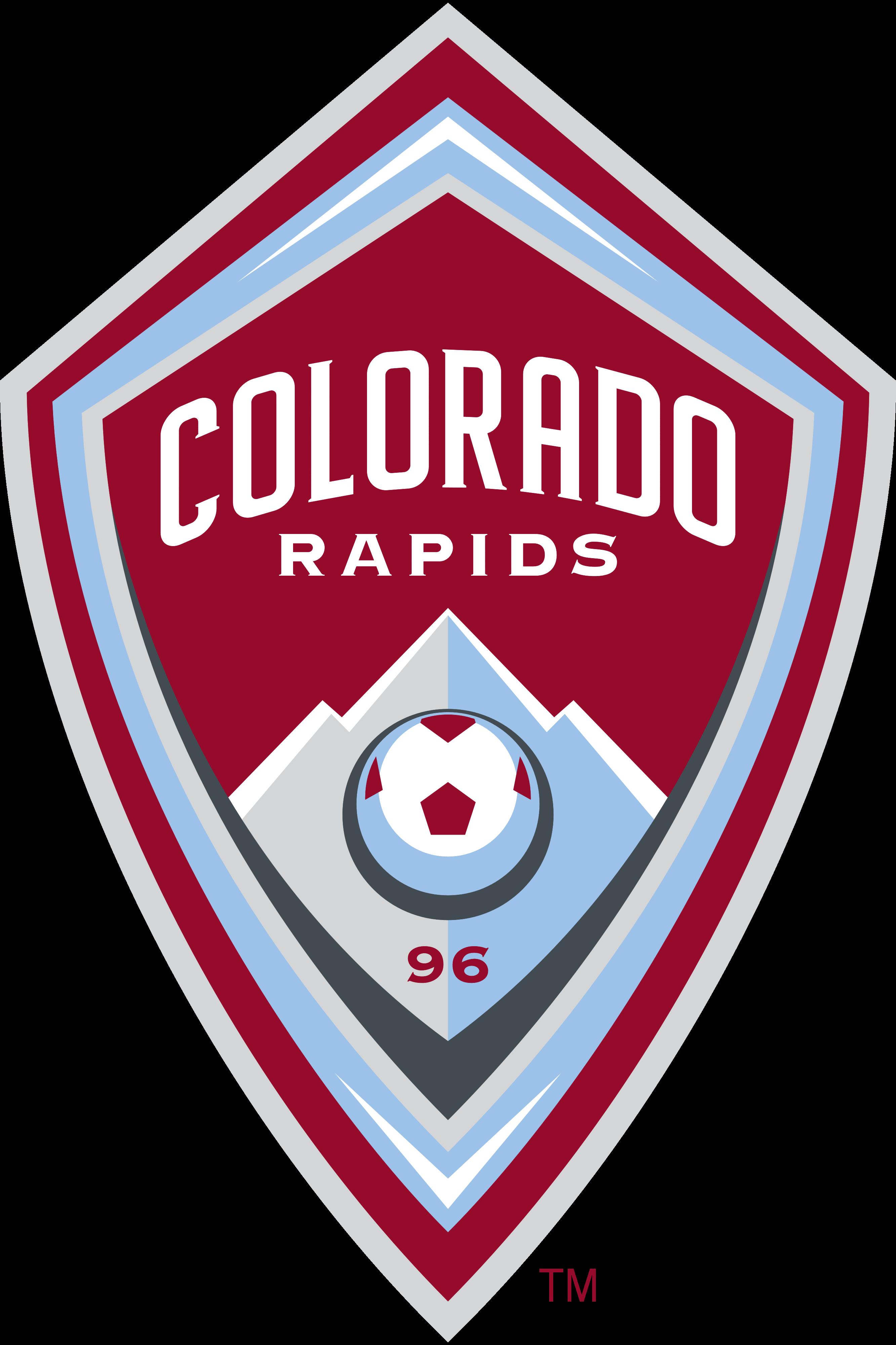 Logo Colorado Rapids Png - Colorado Rapids Logo, Logotype, Transparent background PNG HD thumbnail
