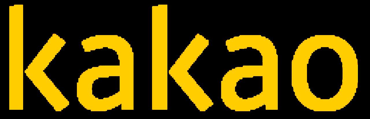 File:kakao Ci Yellow.svg - Kakao, Transparent background PNG HD thumbnail