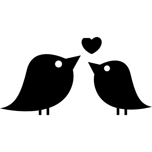 Love Birds Png - Couple Of Love Birds Free Icon, Transparent background PNG HD thumbnail