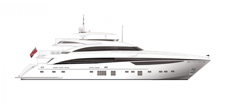 Luxury Yacht Png - The 40M Luxury Motor Yacht Imperial Princess, Transparent background PNG HD thumbnail