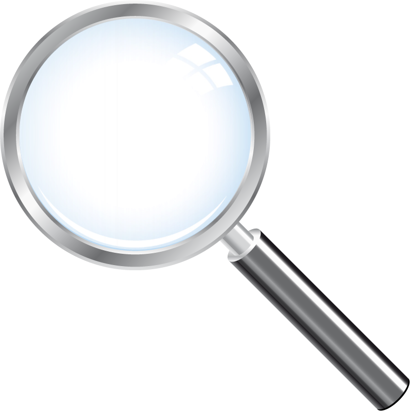 Magnifying Glass Vector Png - Loupe, Transparent background PNG HD thumbnail