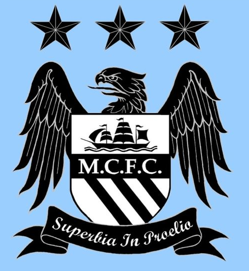 Manchester City Fc Logo (2012 13, Home).png - Manchester City, Transparent background PNG HD thumbnail