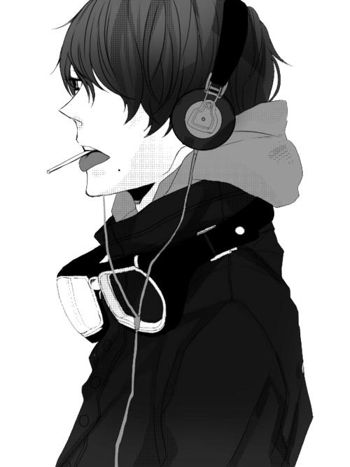Manga Boy PNG