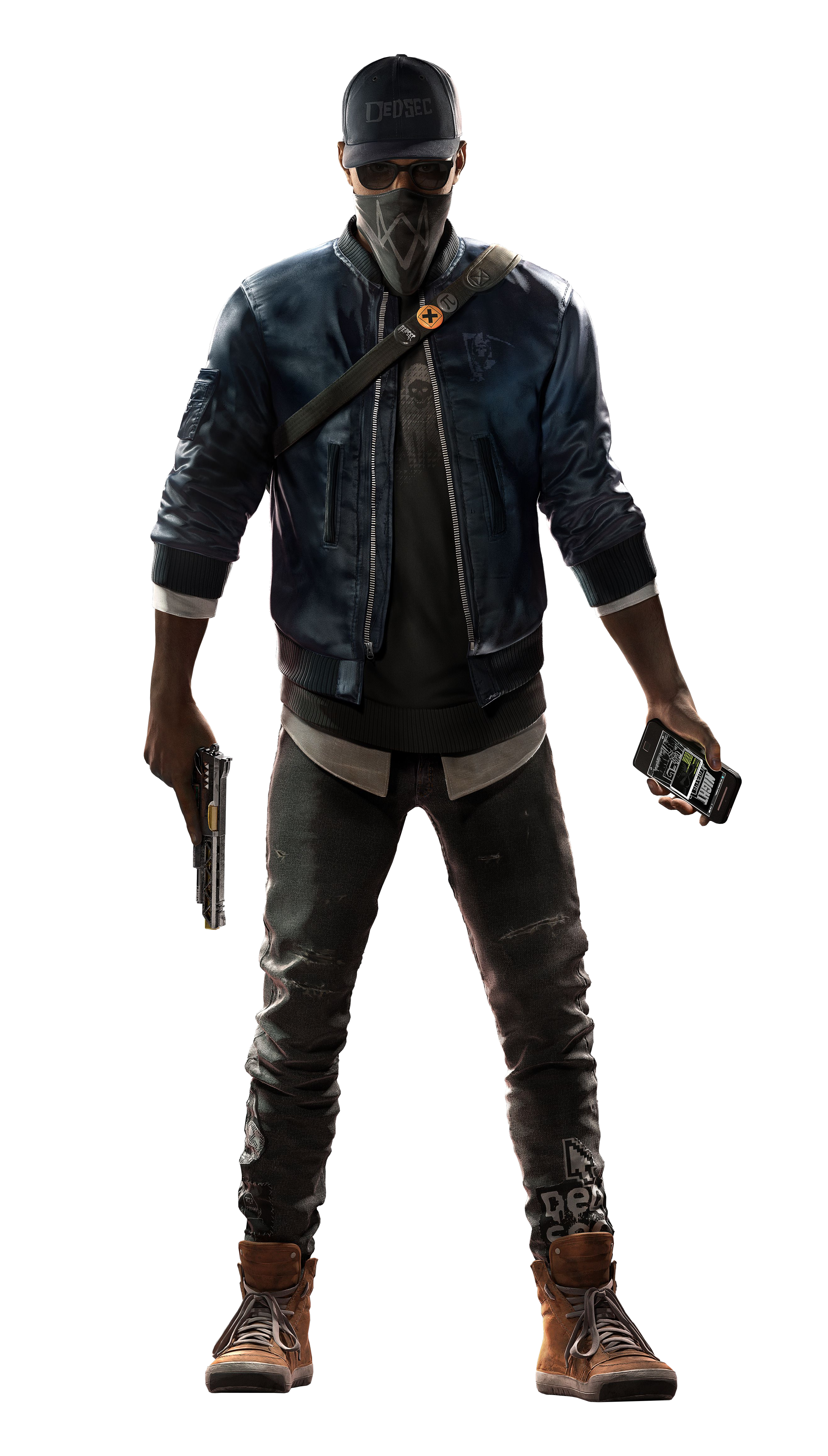 Marcus Holloway.png - Watch Dogs, Transparent background PNG HD thumbnail