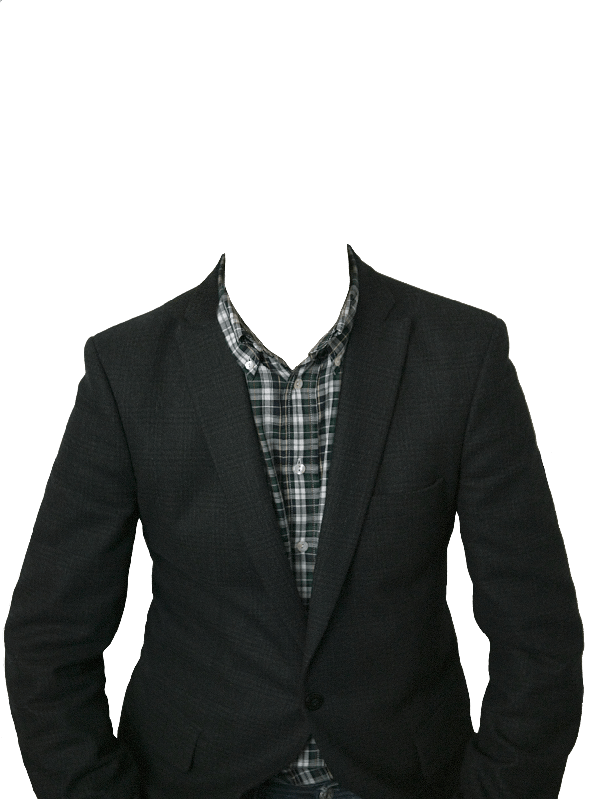 Men Clothes Png - Suit No Head, Transparent background PNG HD thumbnail
