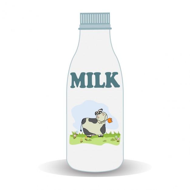 Milk Bottle - Milk, Transparent background PNG HD thumbnail