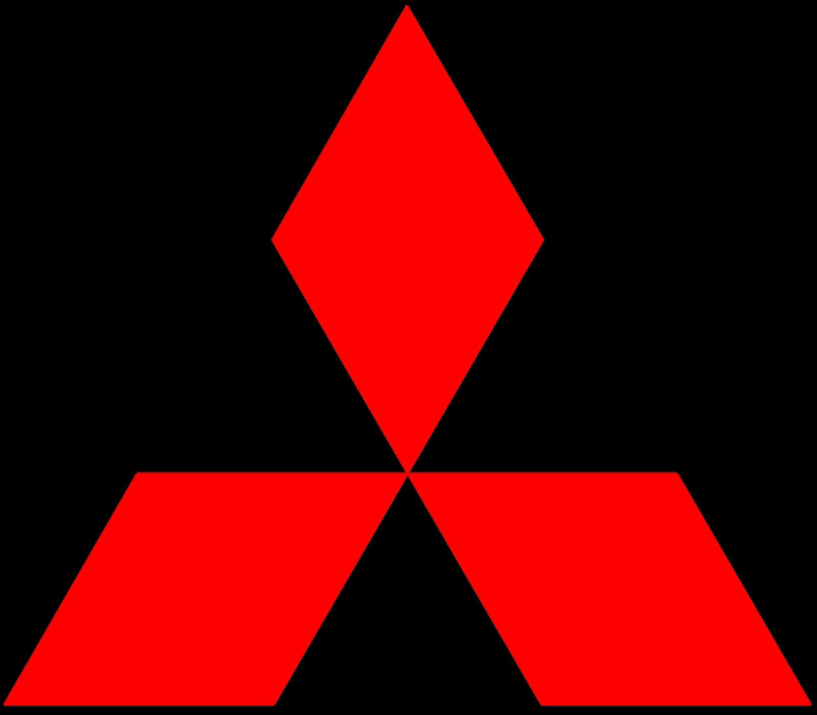 Mitsubishi Car Logo Png Brand Image - Car, Transparent background PNG HD thumbnail