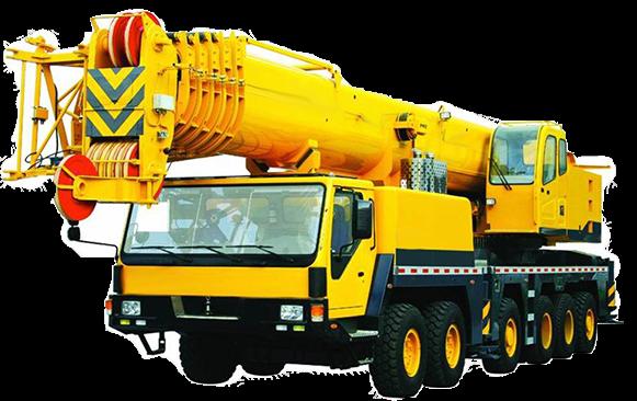 Mobile Crane PNG