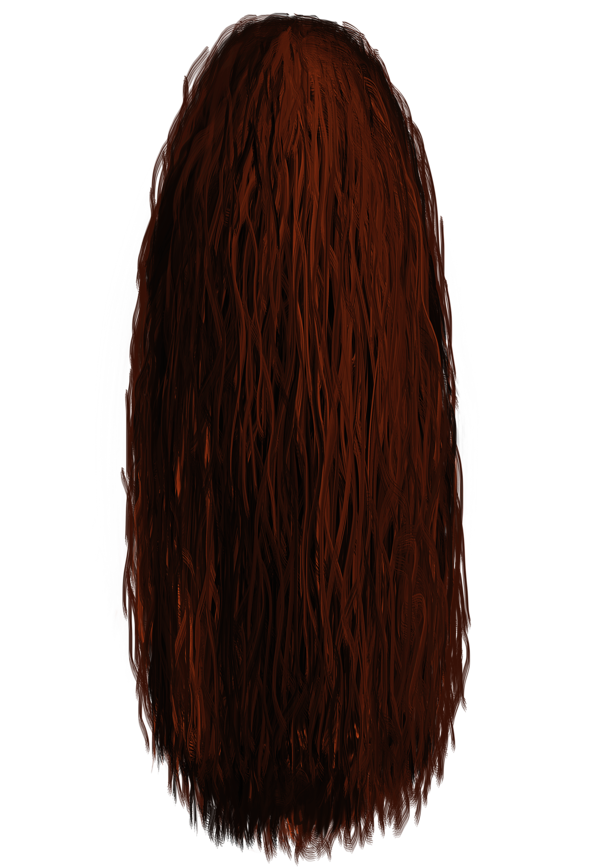 Mohawk Hair Png - Basic Painted Hair 01 Png By Midknightstarr Hdpng.com , Transparent background PNG HD thumbnail