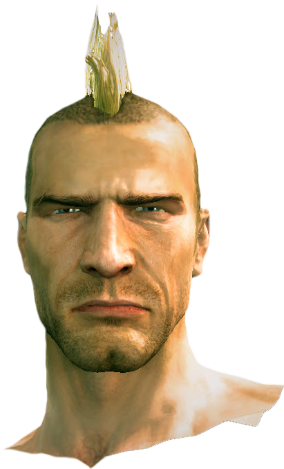 Mohawk Hair Png - Dead Rising Mohawk Hair.png, Transparent background PNG HD thumbnail