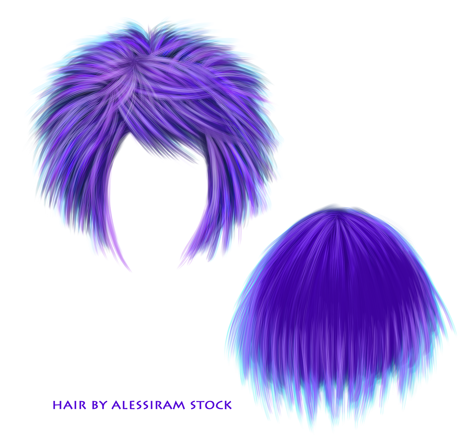 Mohawk Hair Png - Hair Resources Stock Png By Piknicx Hair Resources Stock Png By Piknicx, Transparent background PNG HD thumbnail