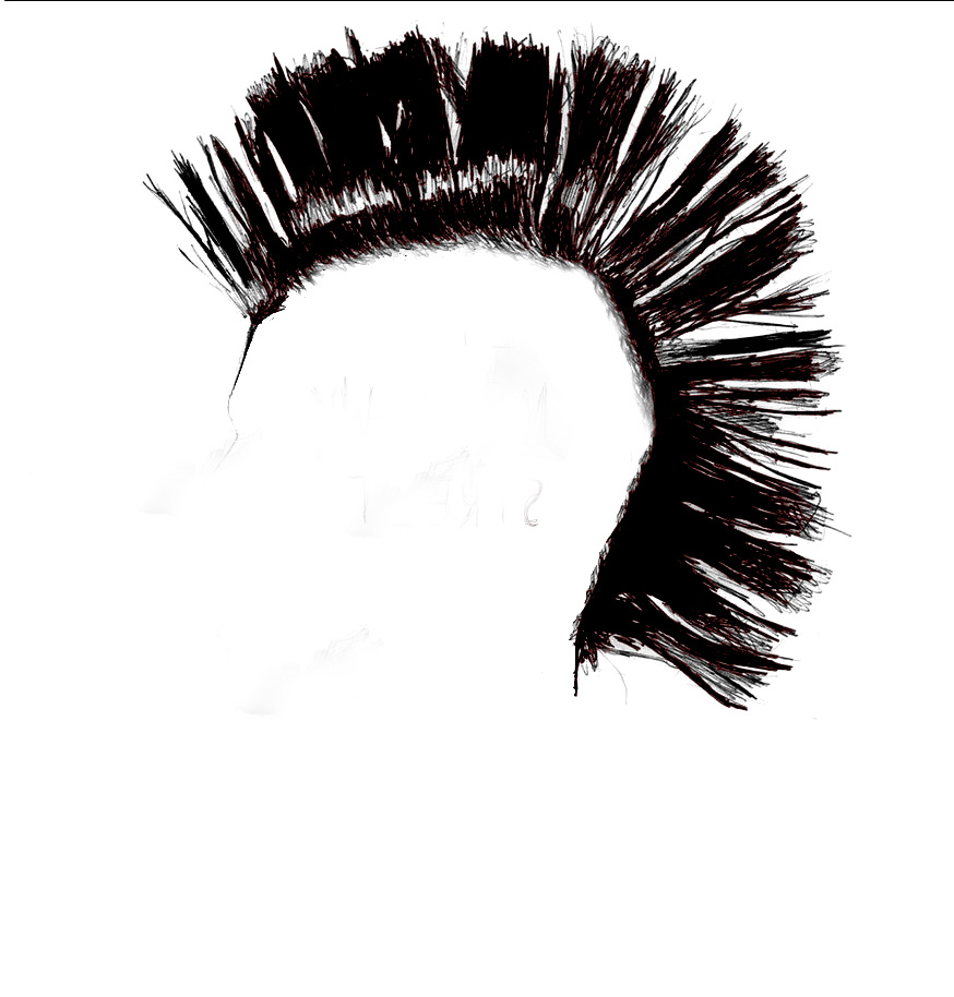 Mohawk Hair Png - Mohawk Street Productions, Transparent background PNG HD thumbnail